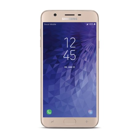 Boost Mobile Samsung J7 Refine 32GB Prepaid Smartphone, Gold ()