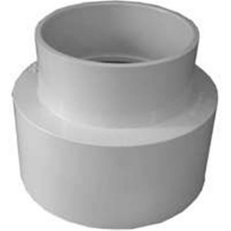 Genova Products 41564 Sewer & Drain Reduce Coupling 6 x 4 In. - image 1 de 1