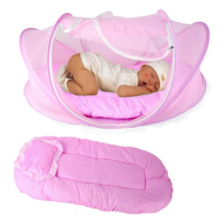 Baby Mosquito Net Tent Crib Outdoor Bed Infant Newborn Cot Netting Fsbr