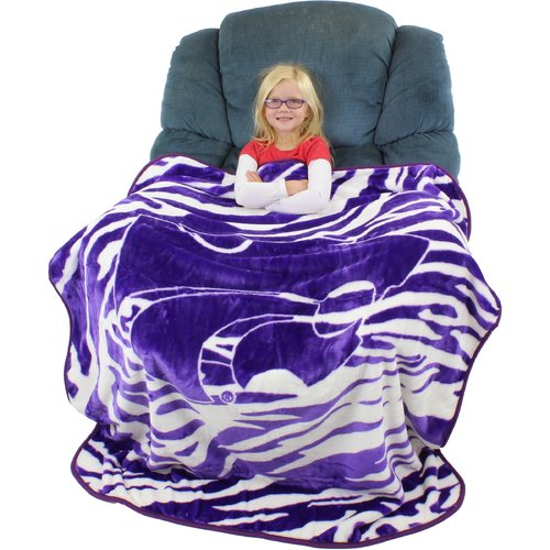 College Covers Kansas State Wildcats Throw Blanket