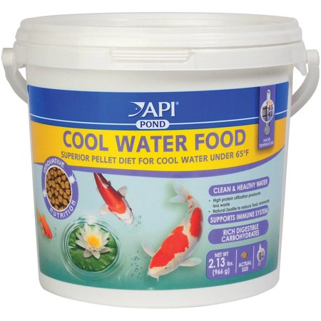 Api aquarium pharmaceuticals 197c 34 oz cool water pond for Walmart fish food