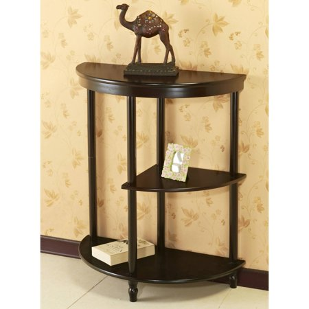 Home Craft Half Moon Console Table, Multiple Colors ()