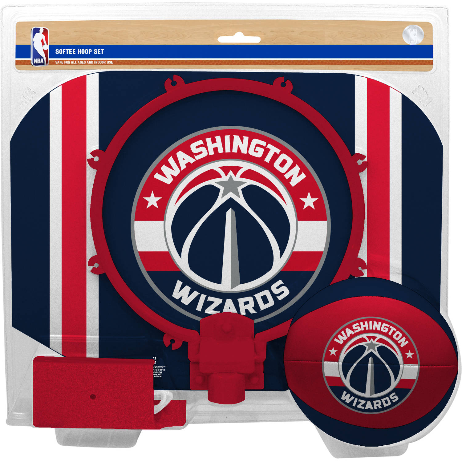 Rawlings NBA Slam Dunk Softee Hoop Set Washington Wizards