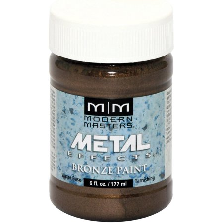 Modern Masters Oxidizing Reactive Metal Paint - Bronze - 6