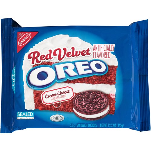 Nabisco Oreo Red Velvet Sandwich Cookies, 12.2 oz