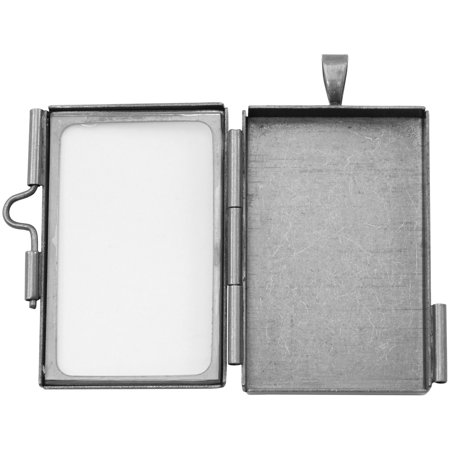 Tim Holtz Assemblage Locket -Rectangle (Frame Locket)