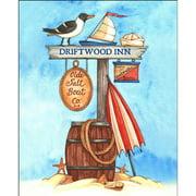 LPG Greetings Old Salte Boat Graphic Art
