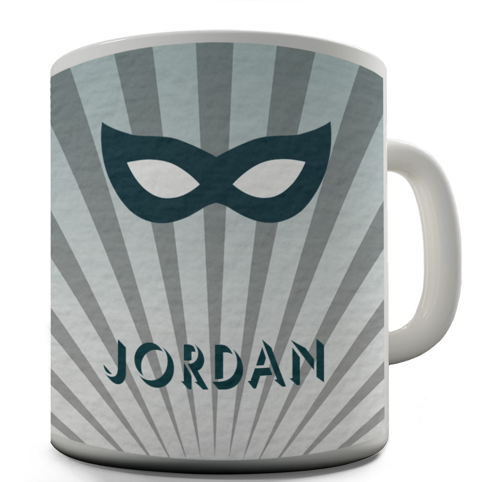 Funny Mugs For Coworkers Personalised Superhero Blue Mask By 15 OZ
