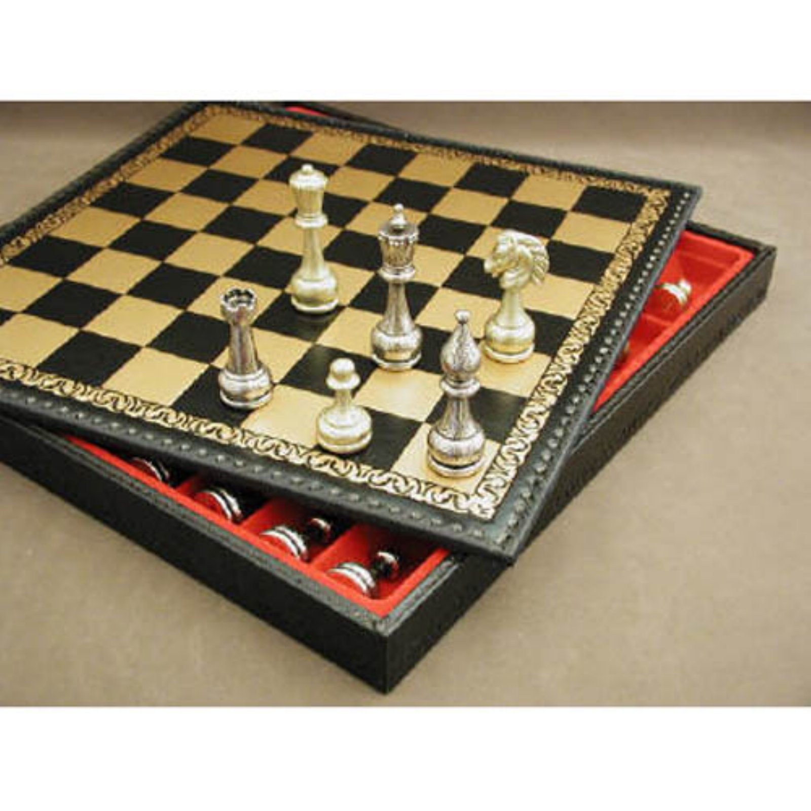 Staunton Metal Chess Set