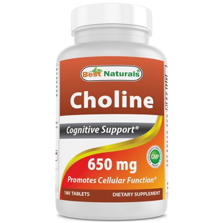 Best Naturals Choline 650 mg 180 Tablets