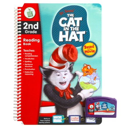 - LeapPad: 2nd Grade Dr. Seuss Cat in the Hat Book, 2nd Grade Level By LeapFrog