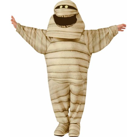 Hotel Transylvania Mummy Child Halloween Costume - Mummy Halloween Face