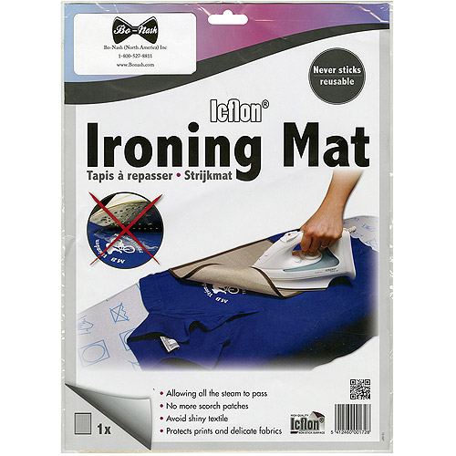 "Ironing Mat with Icflon Non-Stick Surface, 13-1/2"" x 10"""