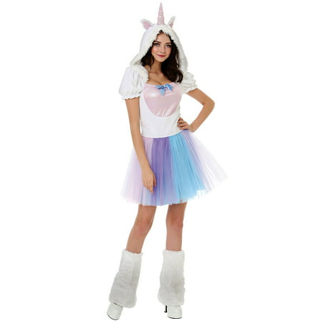 Boo! Inc. Magical Unicorn Halloween Costume for Adults | Great for Parties and Cosplay (Halloween Costume Cosplay)