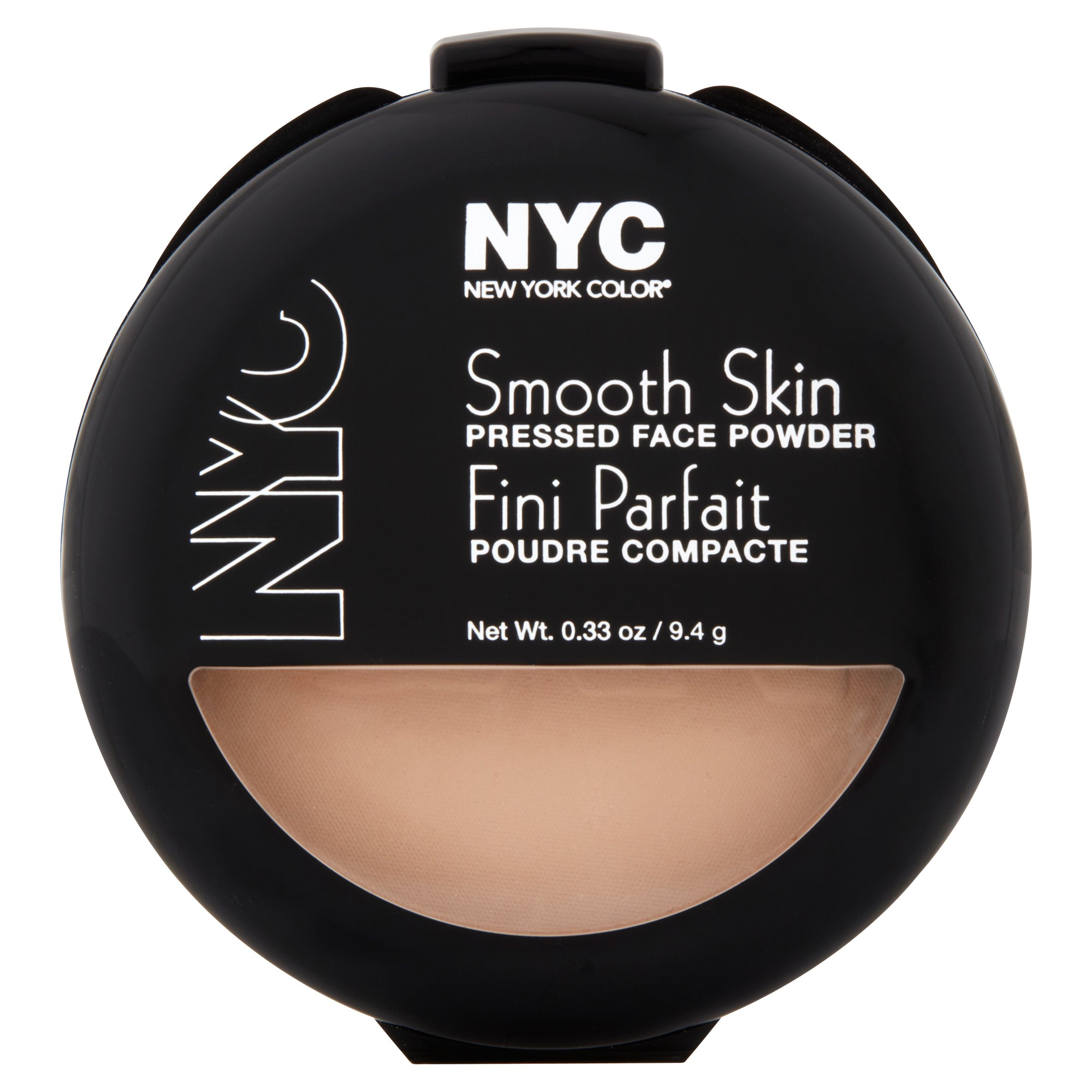 New York Color Smooth Skin 704A Warm Beige Pressed Face Powder, 0.33 oz