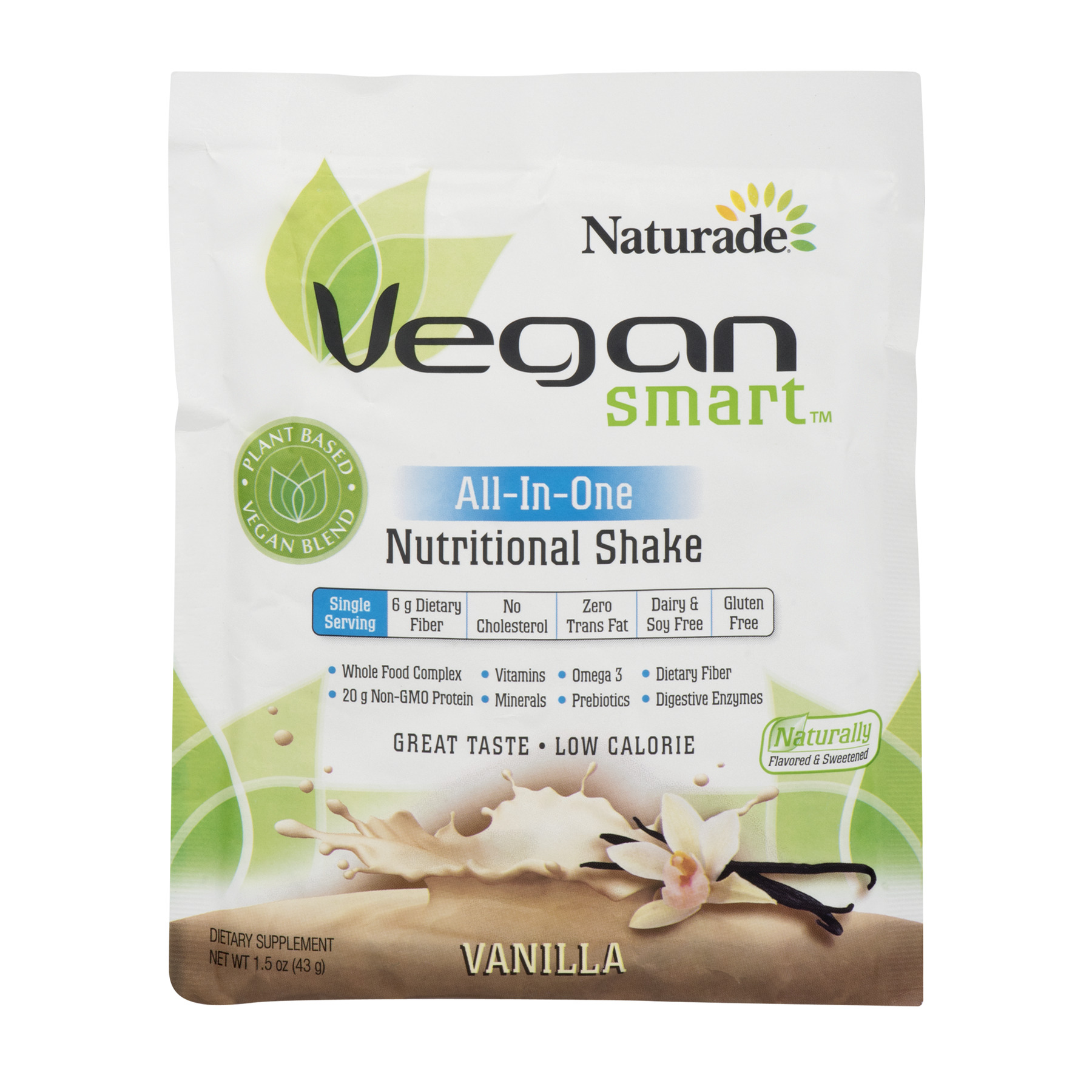 Naturade Nutritional Shake, All-In-One, Vanilla