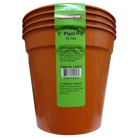 Discount Floral Supplies (New 820173  Plastic Planter Pot 4Pc 12.7Cm (12-Pack) Sponge And Such Cheap Wholesale Discount Bulk Floral Supply Sponge And Such)