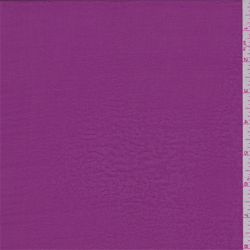 Magenta Polyester Lawn, Fabric By the Yard