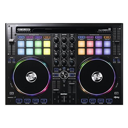 Reloop Beatpad-2 Cross Platform DJ Controller for iPad, Android and