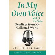 In My Own Voice. Reading from My Collected Works – On Water - eBook