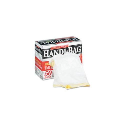 Super Value Pack Trash Bags, 13 gallon, .69 mil, 24 x 27-3/8, White, 50/Box