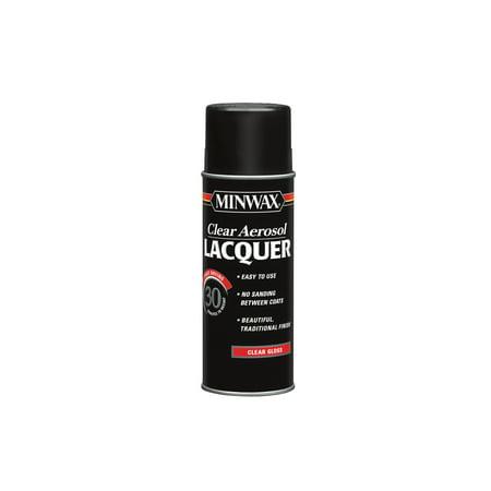 Minwax® Clear Aerosol Lacquer Gloss, 12.25-Oz