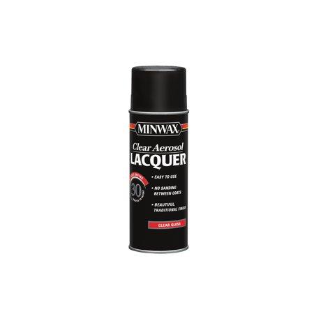 Minwax® Clear Aerosol Lacquer Gloss, (High Gloss Lacquer Humidor)