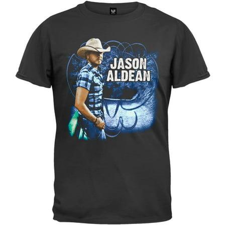 Jason Aldean   Plaid Shirt 2010 Tour T Shirt