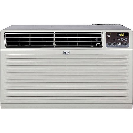 lg lt123cnr 11 500 btu through the wall air conditioner w remote 230v. Black Bedroom Furniture Sets. Home Design Ideas