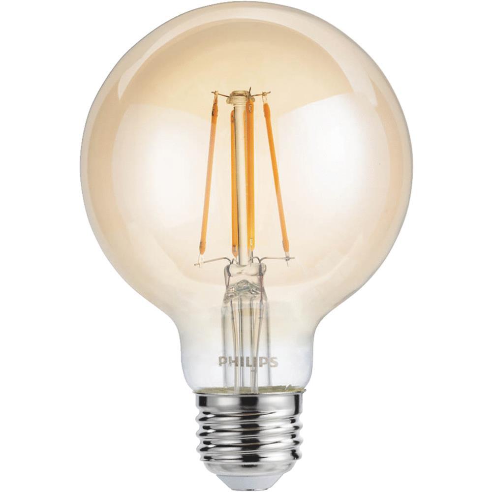 Philips Lighting Co 4w G25 Vintage LED Bulb 475814