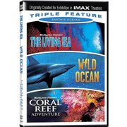 Earth's Oceans Triple Feature: The Living Sea   Coral Reef Adventure   Wild Ocean (IMAX) (Widescreen) by IMAGE ENTERTAINMENT INC