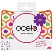 2 Pack - O-Cel-O Scrub & Wipe Cleaning Pad, Assorted Colors 1 ea
