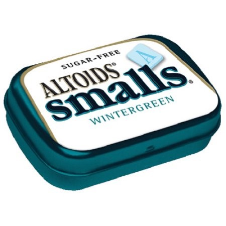 Altoids Smalls Sugar Free Wintergreen Mints, 0.37 Ounce Tins, 9 Count by Wrigley