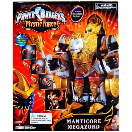 Power Rangers Mystic Force Manticore Megazord Deluxe Action Figure - Blue Mystic Ranger