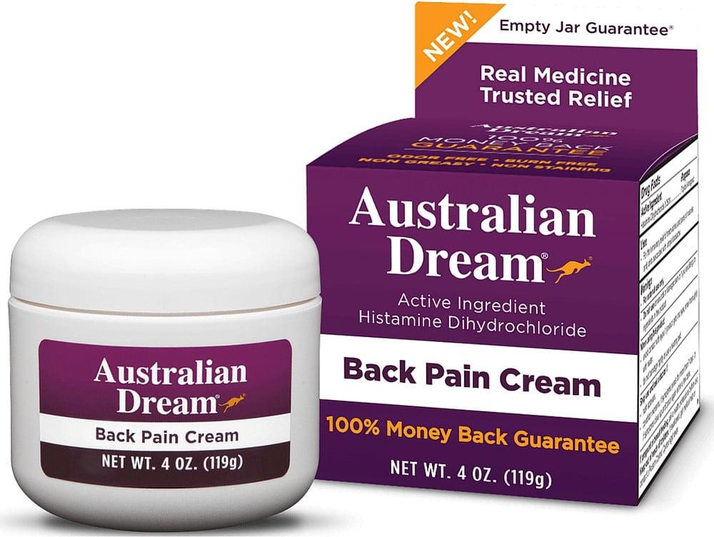 Australian Dream Back Pain Cream 4 oz - Walmart.com