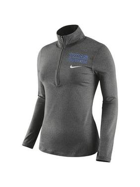 Product Image Texas Rangers Nike Women s Element Half-Zip Performance Jacket  - Heathered Gray fab8616da