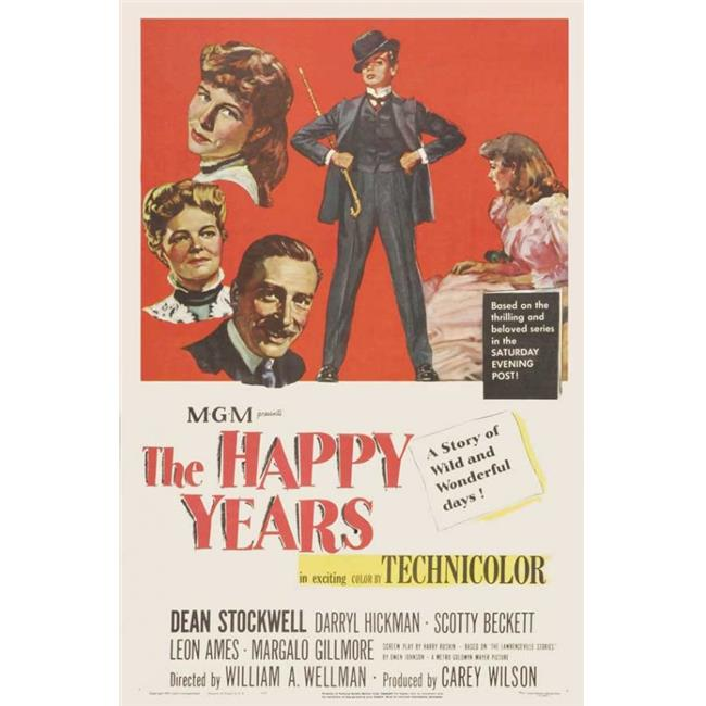 Posterazzi MOVGJ7178 The Happy Years Movie Poster - 27 x 40 in. - image 1 of 1