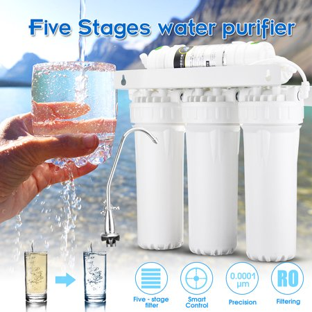 Home 5 Stage Water Filters Drinking Ultra Filtration System UF Purifier
