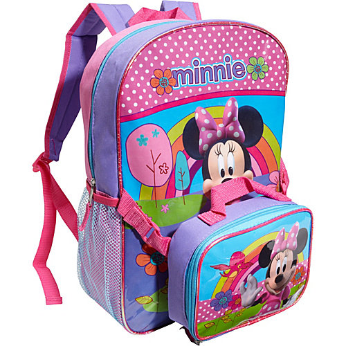 Disney Minnie Backpack with Lunch Sack