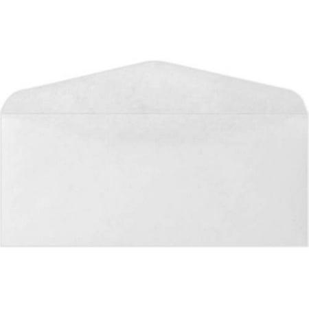 #12 Regular Envelopes (4 3/4 x 11) - 24lb. Bright White (1000 Qty.) Bright White 1000 Envelopes