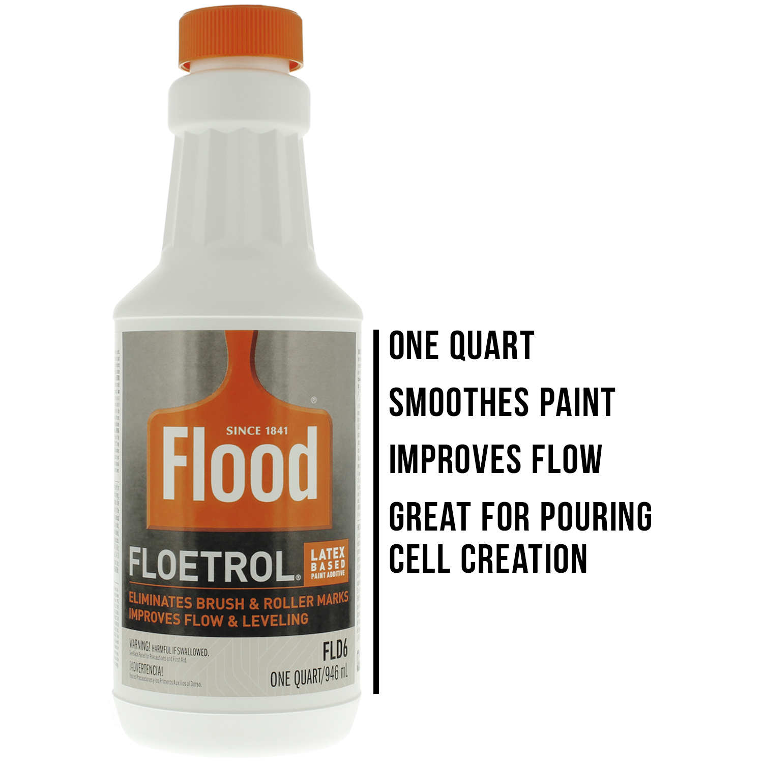 1 Quart Floetrol Additive Pouring Supply Paint Medium Basic Kit