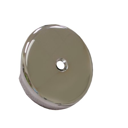 Chrome Plated 1-Hole Waste and Overflow Faceplate less Screw,PartNo T05010 Jones