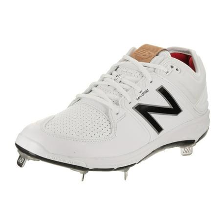 New Balance Men's L3000V3 Baseball Shoe, Red/White, 10.5 D US