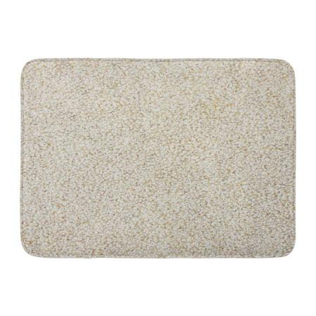 GODPOK Red Clean Beige Berber Carpet Brown Abstract Tan Closeup Rug Doormat Bath Mat 23.6x15.7 inch