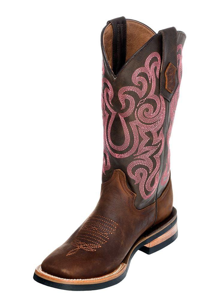 Ferrini Square Western Boots Womens Maverick Square Ferrini Toe Chocolate 85093-09 2af1f4