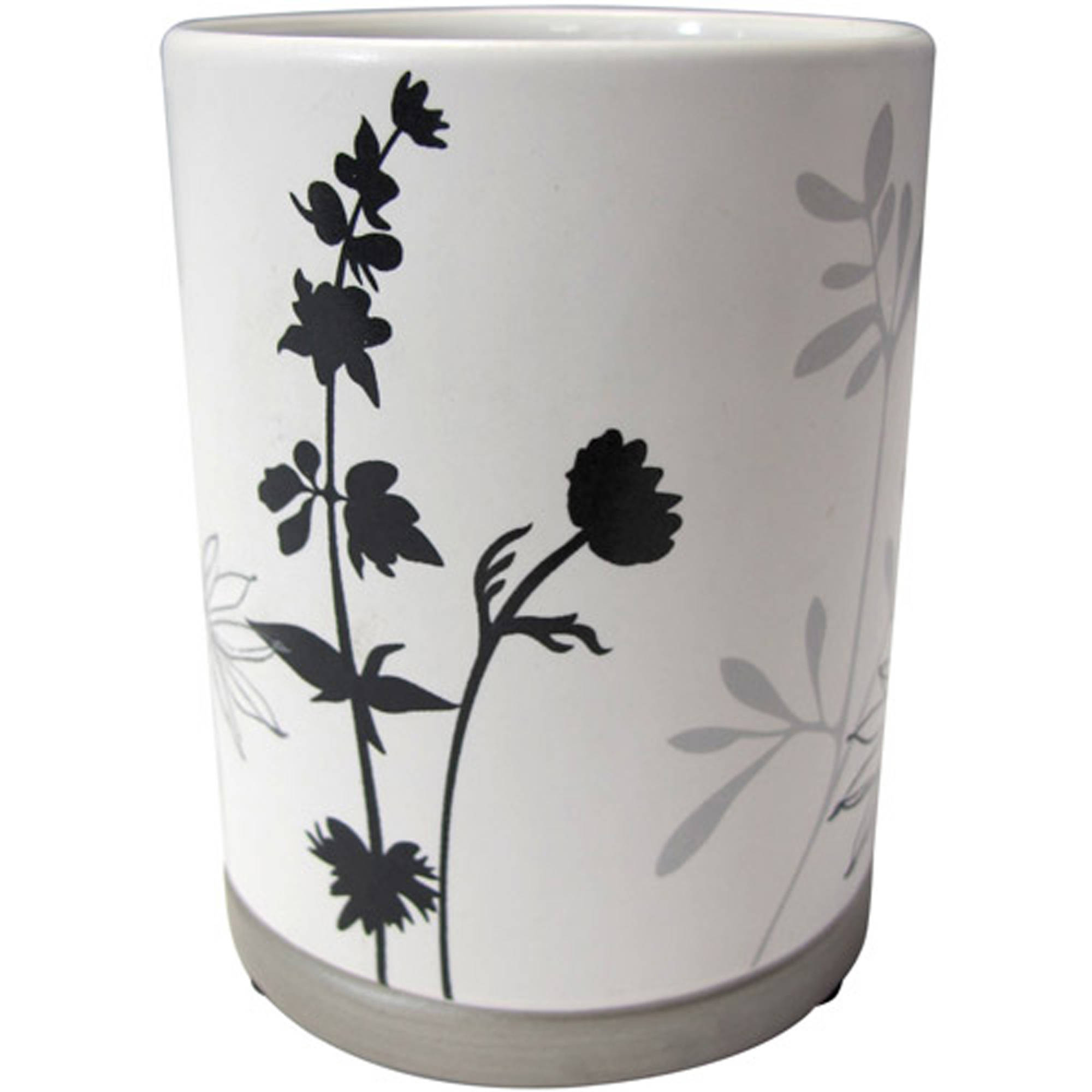 Better Homes and Gardens Tranquil Leaves Decorative Bath Collection - Tumbler