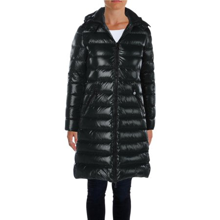 Moncler Womens Down Hooded Quilted Coat