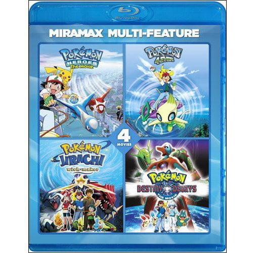 Pokemon 4 Film Series [Blu-ray] by ECHO BRIDGE ENTERTAINMENT