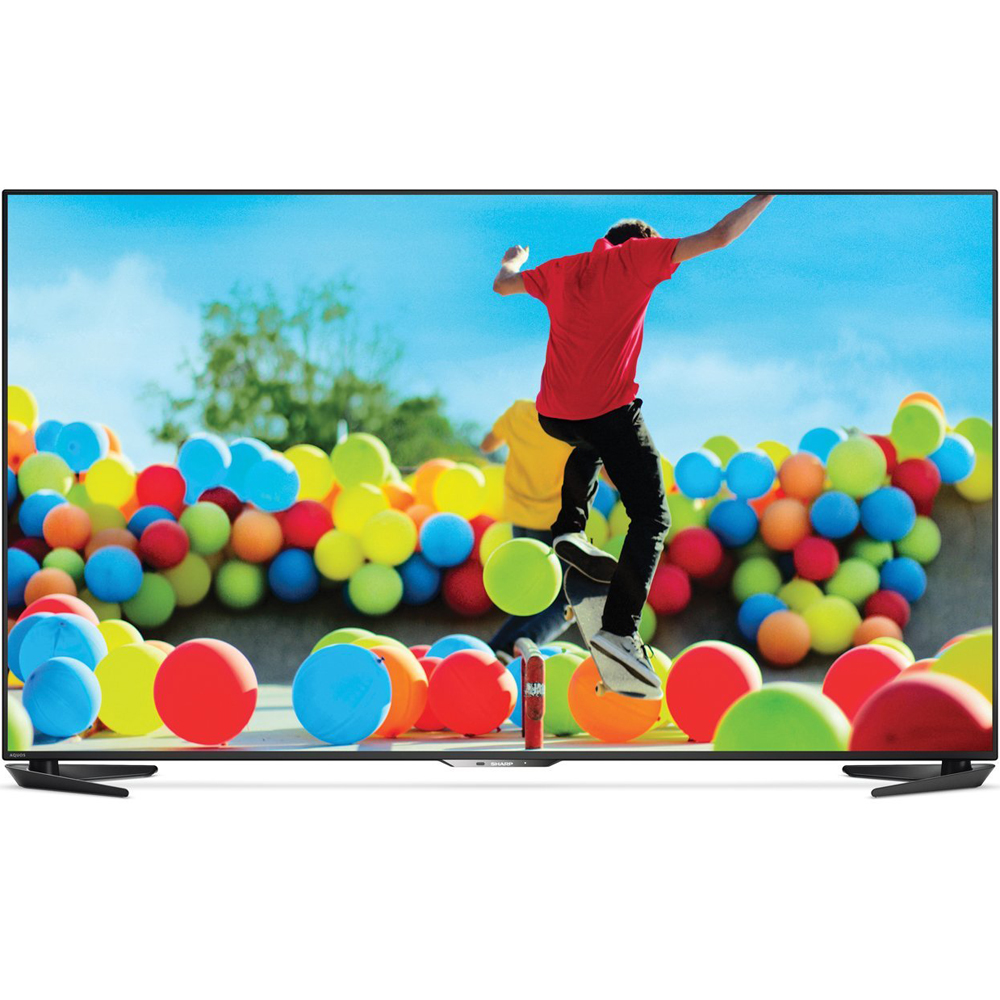 "Sharp LC-70UE30U 70"" Aquos 4K Ultra HD Smart Android LED TV 2160p 120 Hz 16:9"
