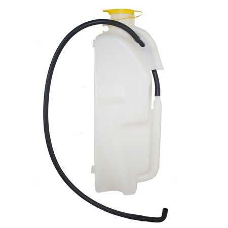 Coolant Recovery Tank Overflow Expansion Reservoir Bottle w/ Cap & Hose Replacement for Jeep Wrangler 68091500AD